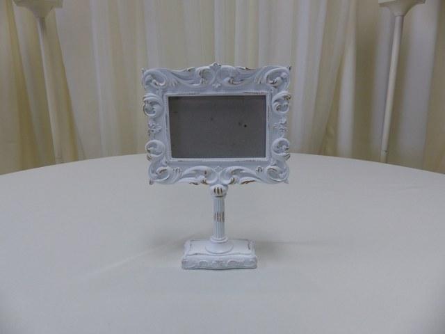 Vintage Pedestal Photo Frame