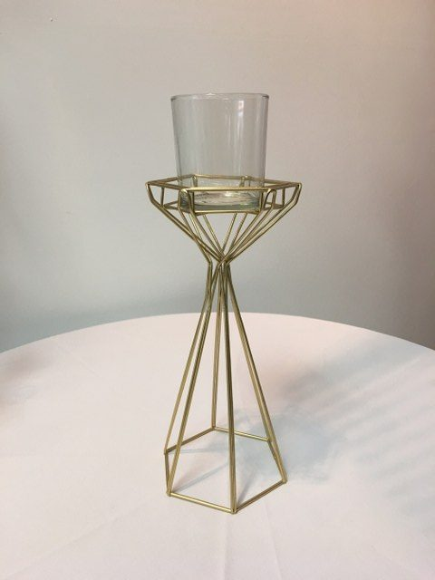Gold Geo Candle Holder, 10 one quarter inch_640x480