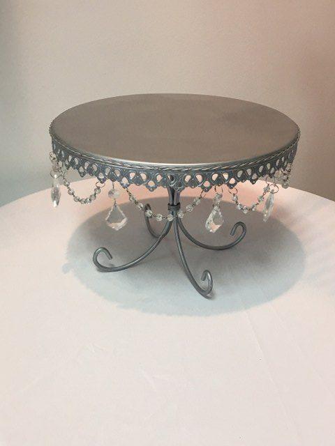 13 inch D Silver Pedistal Cake Stand_640x480