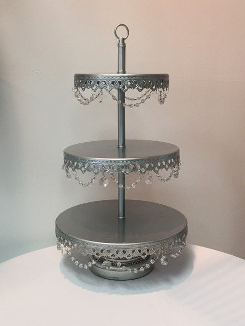 3 Tier Silver Cupcake Stand_640x480