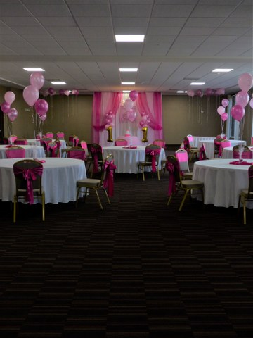 Pink 1st Birthday Setup with Backdrop_360x480