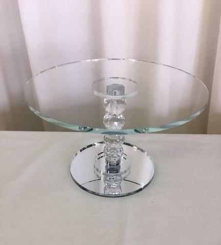 11.5inch Clear Glass Pedestal Cake Stand_432x480