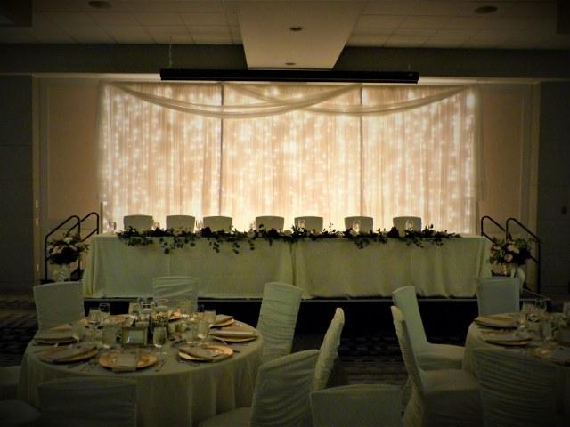 Ivory Backdrop Wall Of Minilights_640x480