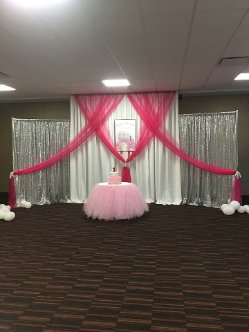 Pink, White and Silver Sequin Backdrop_360x480