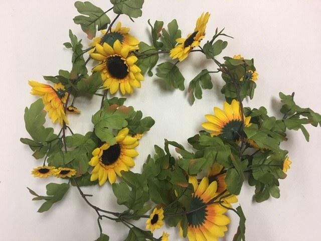 Sunflower Garland, 6ft_640x480