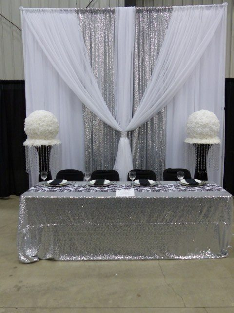 White Voile and Silver Sequin Backdrop_640x480