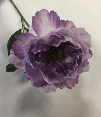 Artificial Peony Stem, Large, Lavender_416x480