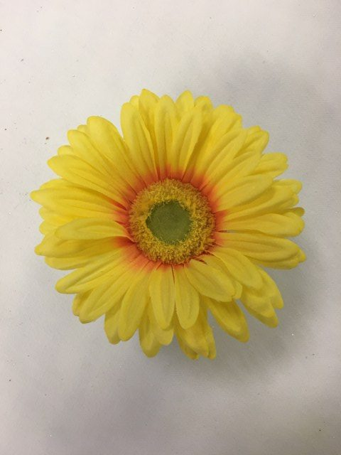 Gerber Daisy Short Stem, Artifical, Yellow_640x480