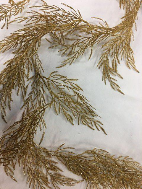 Mimosa Garland, Gold, 6Ft_640x480