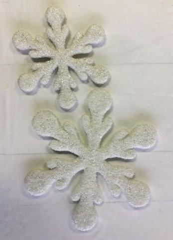 White Glittered Snowflake_347x480