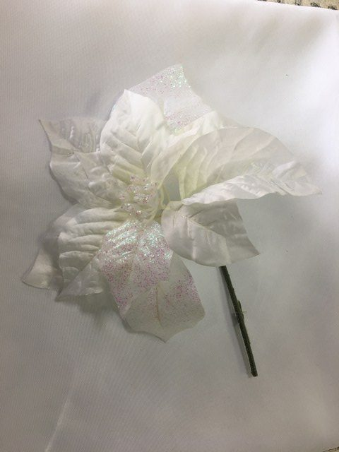 White Pointsettia, Artificial_640x480
