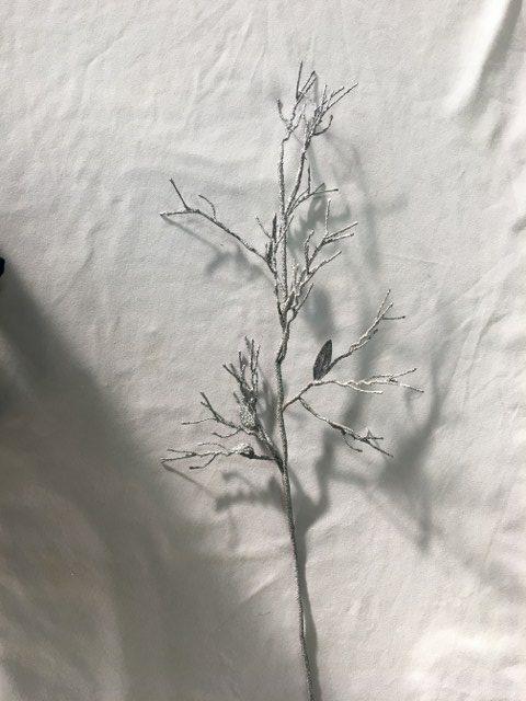 Artificial Twiggy Branch, Silver, 35inch_640x480