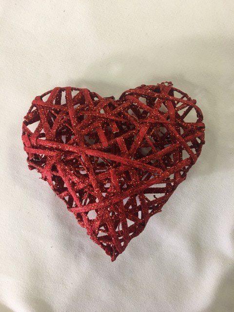 3D Heart, Red Glitter 7inch_640x480