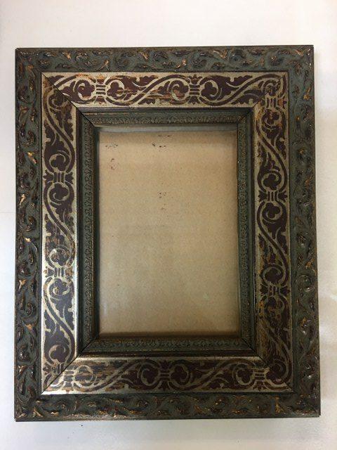Brown Ornate Frame 11inch x 9inch_640x480
