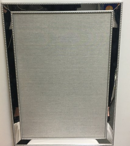 Silver Beaded Frame 33inch x 23.5inch_427x480