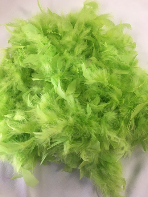 6Ft Lime Green Feather Boa_640x480