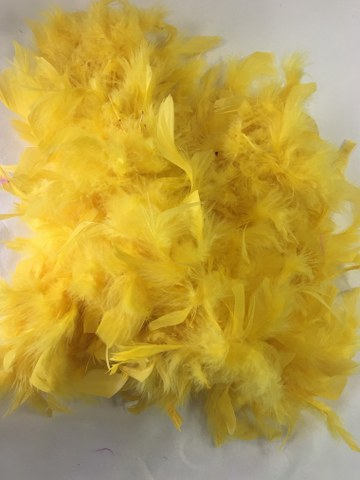 6Ft Yellow Feather Boa_360x480