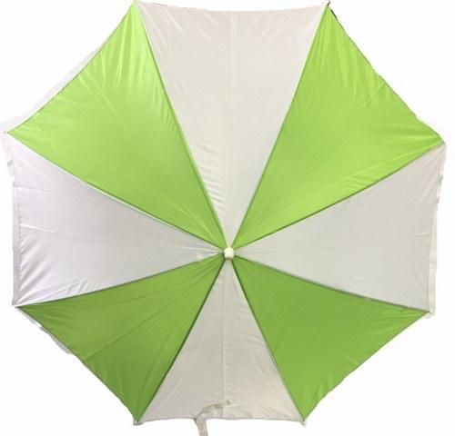 Green and White Umbrella_500x480