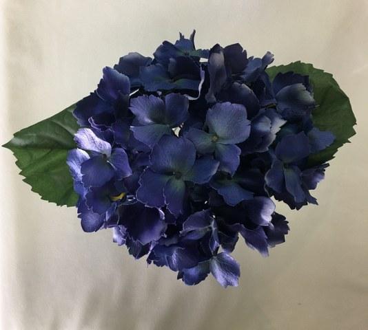 Hydrangea Stem – Dark Blue – Artificial_534x480
