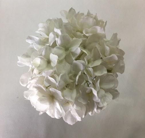 Hydrangea Stem – White – Artificial_506x480
