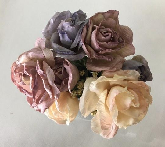 Rose Bouquet – Lavender Mauve – Artificial_541x480
