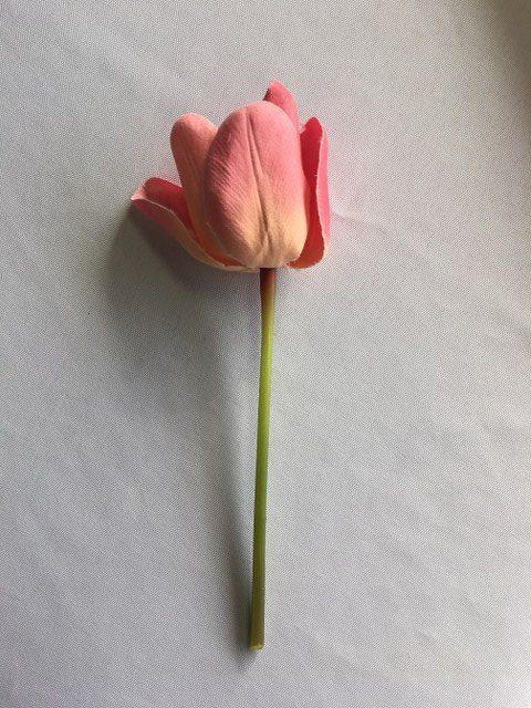 Artificial Pink Tulip short stem_640x480